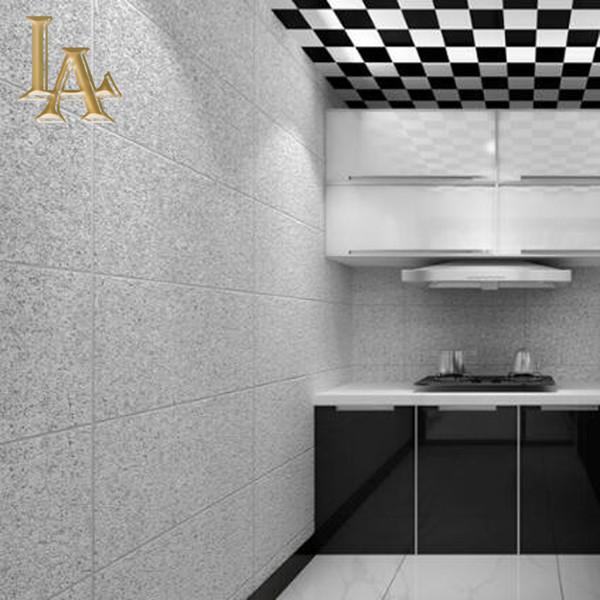 Modern Basit 3D İmitasyon Mermer Fayans Kafes Duvar Kağıdı Yatak Odası Oturma Odası TV Zemin Akın dokunmamış Çizgili Duvar Kağıdı