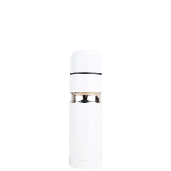 Stainless Steel Kettle Flower Color Anti Scald Water Bottles Insulation Cold Retaining Creative Vacuum Cup Heat Resistant 18hs jj