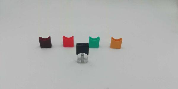 mini-stater kit vape pod cartouche pour bouton de batterie tactile bourrelet céramique bobines 0.8ml pod pour huile épaisse pour bourgeon batterie tactile