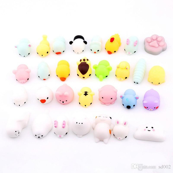New Vent Squishies Creative Slow Rising Animal Shape Decompression Squishy Squeeze Toys Cute Jumbo Favor Items 0 9xf ii