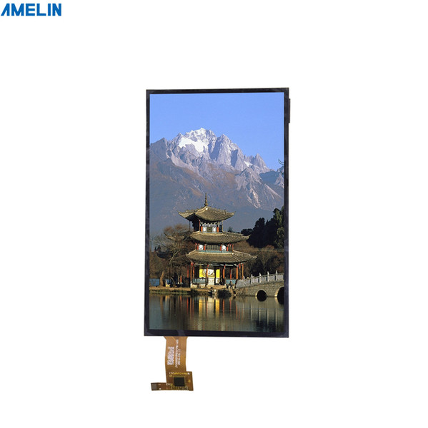 5 inch 720*1280 TFT LCD Module touch screen with MIPI interface display from shenzhen amelin panel manufacture