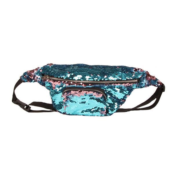 Small Makeup Waist Bags For Women Reflectlive Designer Sequin Bag Lady Cross Body Single Shoulder Bags Multi-function Storage Wholesale