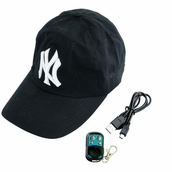 32GB HD 1080P Baseball Cap Camera With Remote Control Black Mini Hat Camera Portable Camcorder Video Recorder Mini DVs DVR Free Shipping