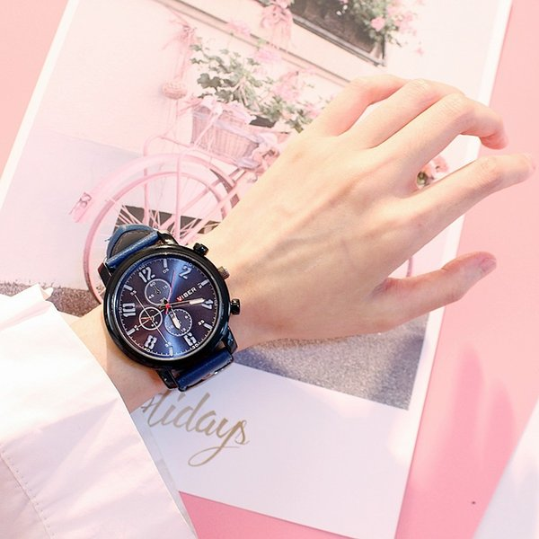 New Watch Men Sport Quartz Watches Colorful Fashion And Casual Watches Clearly See Analog Male Clock Unique Watch