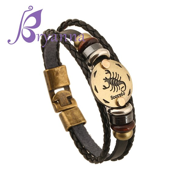 LW025 Vintage Leather Bracelets For Women Punk Bible Leather Bangle Male  Wristband Wrap Men Indian Jewelry Silver Heart Charm Bracelet Charm  Bracelets