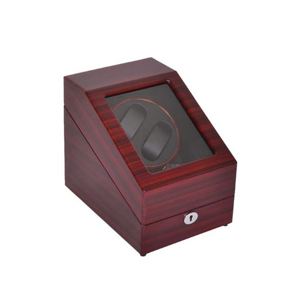 Enrouleur de montre, Boîte d'affichage en bois LT à rotation automatique 2 + 3