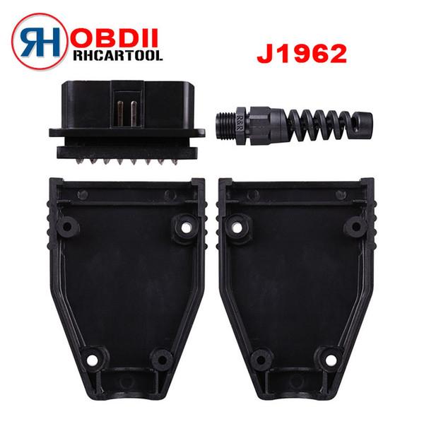 16 pin obd connector diagnostic-tool obd2 16pin Adaptor eobd2 obdii J1962 Connector obdii plug with screws
