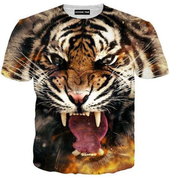 Camisetas Camiseta estampada 3D de hombre Camiseta manga corta de verano Camiseta Camiseta estampada de fitness Tee Tops 3D para hombres