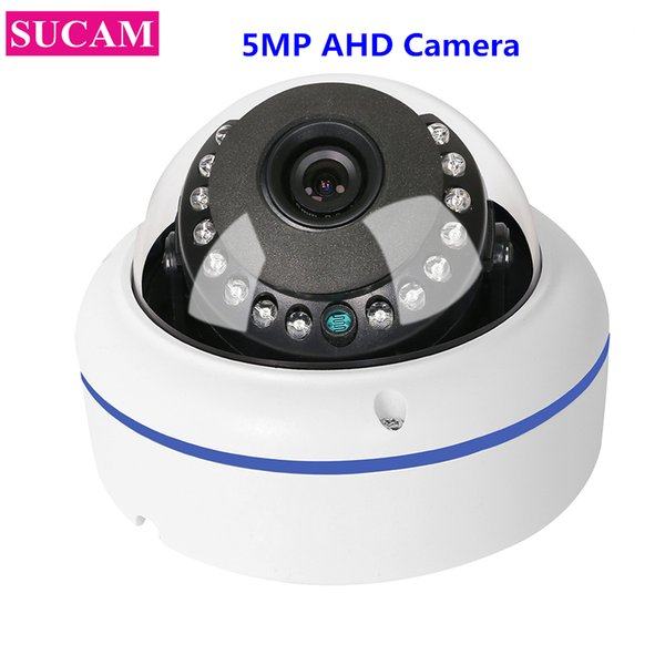 SUCAM Home Security 5MP AHD Fisheye Surveillance Camera 180 Degree Wide Angle Sony 326 Infrared CCTV Camera 1.7mm 3.6mm lens