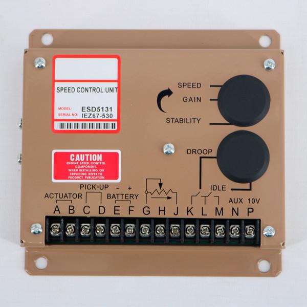 Tablero de control de velocidad electrónico de generadores Controlador de velocidad de generador diésel ESD5131