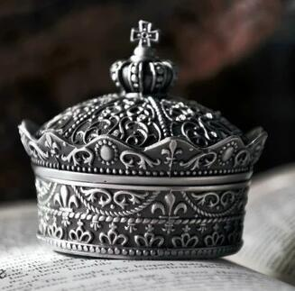 cake decoration tools retro european princess korean jewelry box handmade DIY soap silicone mold