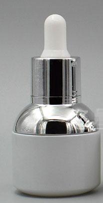 30ML Gümüş Uzun kauçuk Ampul