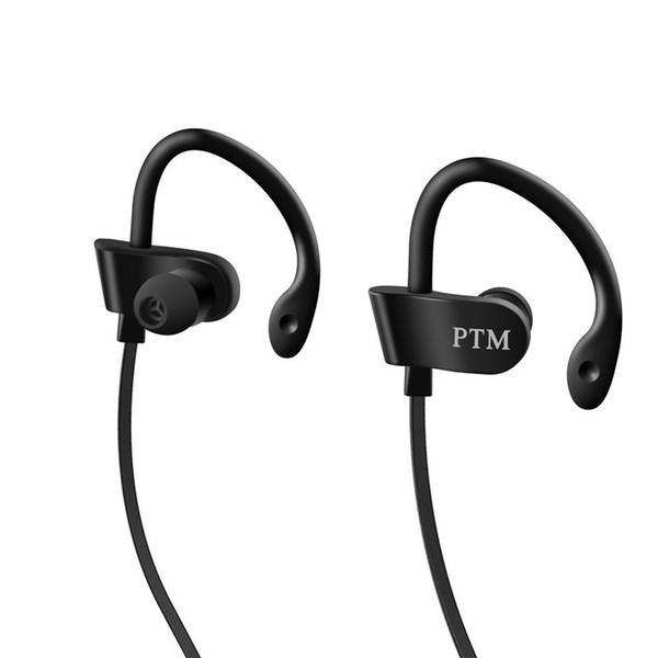 Auricolare PTM TS27 Sport Running Anti-Drop Auricolare Ear Hook Auricolari stereo con microfono Cuffia per telefono iPhone Xiaomi Universale