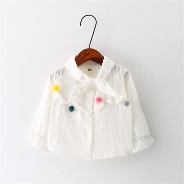Camicia a maniche lunghe per bambini in cotone di alta qualità per bambini di alta qualità, per bambini e per bambini