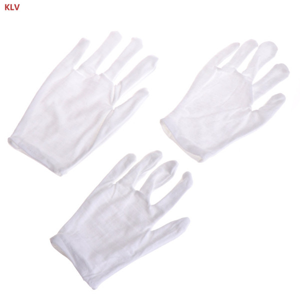 Creative performance gloves Kids Fun Express White Etiquette Polyester Child Size Performance Costume Gloves free shipping