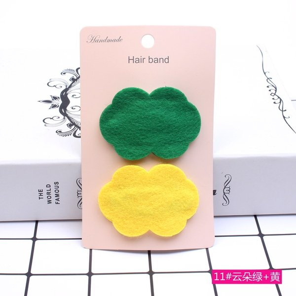 dropship gift 2PCS/Lot NEW Little Girls Barrettes lovely Hair Clip Children Safety Hairpin Headband For Kids Hair Accessories