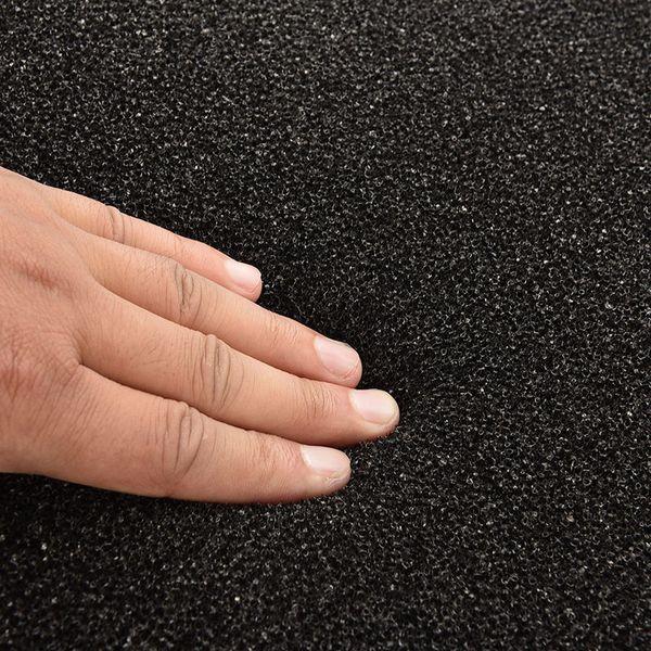 Expédition rapide Noir Filtre Bio-éponge réutilisable pour aquarium éponge Fish Tank Filtre noir Biochemical coton tampons en mousse 50x50cm
