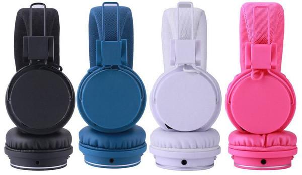 Auricular Bluetooth inalámbrico plegable en la oreja para la computadora del teléfono Estudio de música profesional Auriculares de DJ Auricular Bluetooth Juego