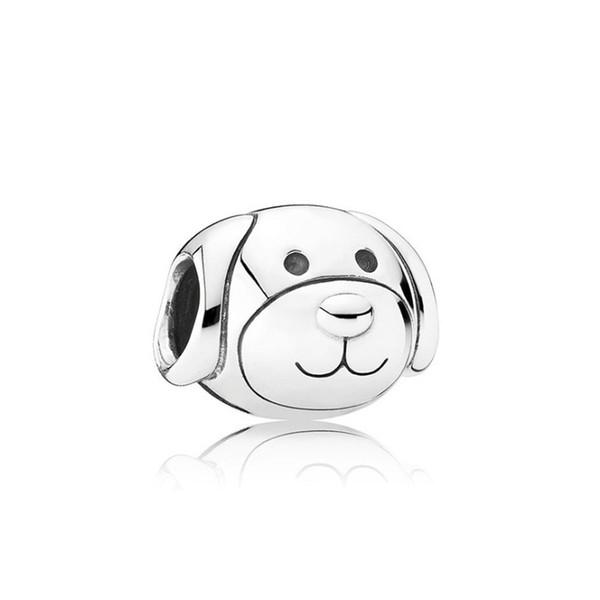 Cute Pet Dog Alloy Charm Bead Best Friend Fashion Women Jewelry Stunning Design European Style For DIY Bracelet Necklace