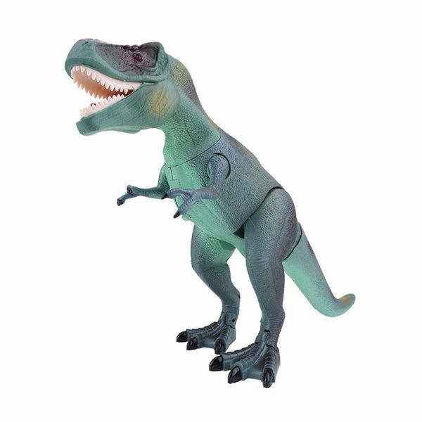 2018 New Cool Kids Toy RC Dinosaur Toy Electric Remote Control Animal Model Toys Funny RC Walking Dinosaur Model Toys