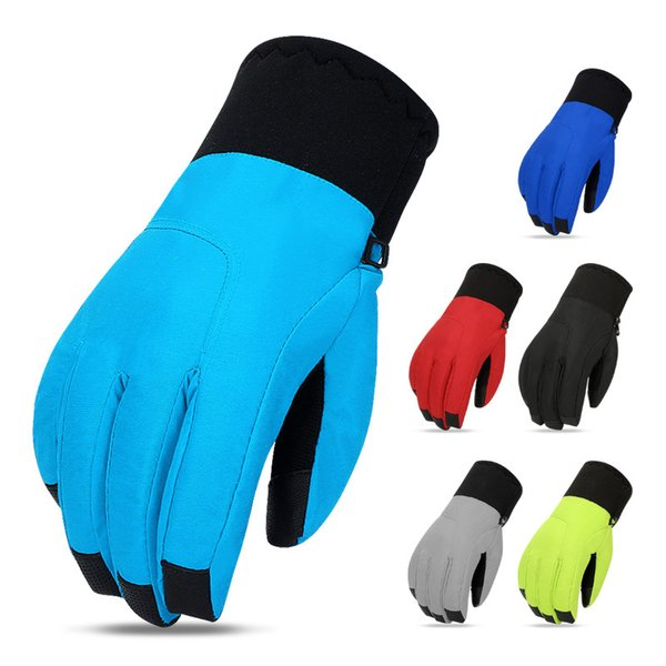 Winter Warm Skiing Touch Screen Gloves Riding Windproof Waterproof Cold Proof Gloves Mountaineering Outdoor For Unisex