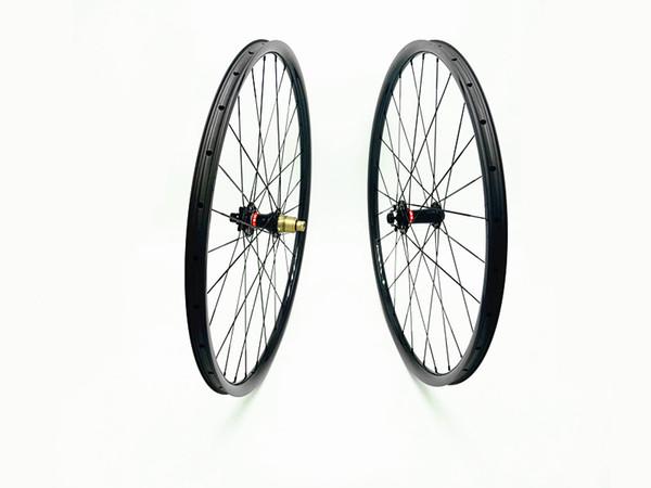 DAIRS 29er xc 27mm carbon MTB wheels 29er MTB wheels front boost 110x15mm rear 142x12mm Mountain Bikes bicycle MTB wheels DAIRS UD glossy