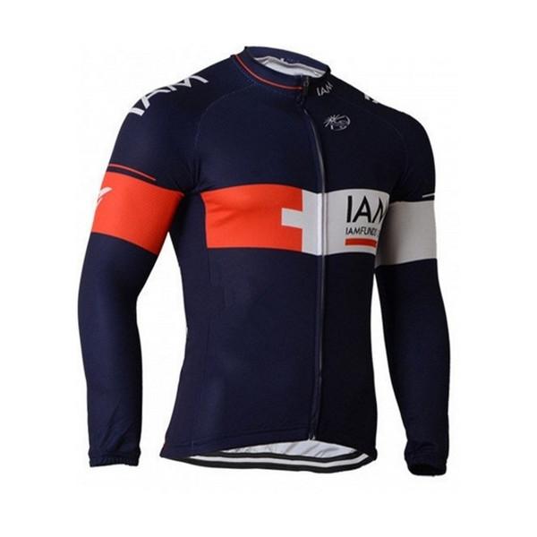 Pro team IAM winter fleece cycling bib pant mens warmer quick dry bike cloth MTB Ropa Ciclismo Bicycle maillot bib shorts gel pad