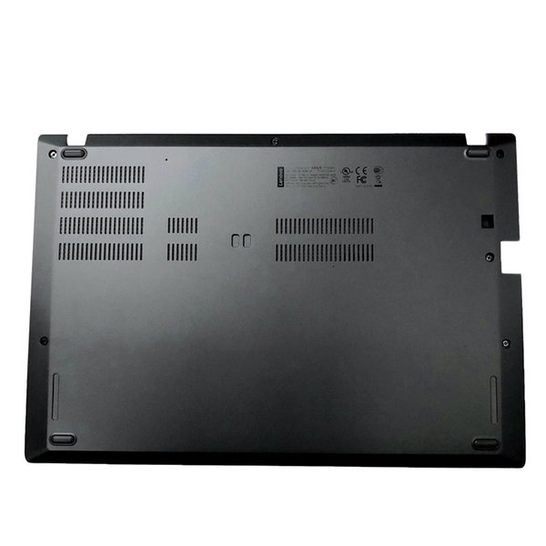 Genuine NEW Laptop Lower Case for Lenovo ThinkPad T480s Bottom Chassis Cover Base Shell Black 01LV696 01YN989 AM16Q000500