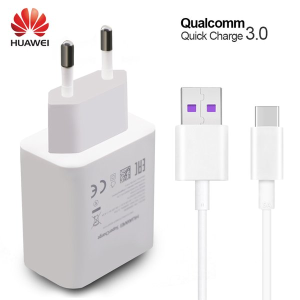 venta al por mayor P10 Plus Fast Charger Mate 9 10 Pro Supercharge Quick Travel adaptador de pared 4.5V5A / 5V4.5A Type-C 3.0 USB Cable 1M Original
