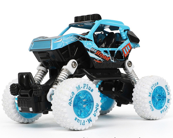 Alloy Car Model Toys, Cartoon Monster Trucks, Double Pull-back, Cross Country Vehicles, for Kid' Party Birthday Gift, Collecting, Decoration