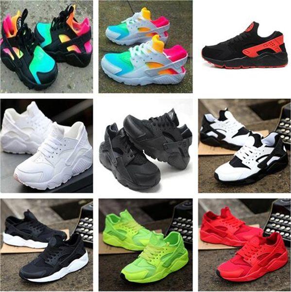 New Air Huarache Rainbow Sky Blue Running Shoes Unisex big Kids Boys girls Men Women Huaraches Ultra Shoes Multicolor Black White Sneakers