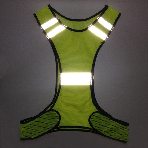 High Visibility Reflective Safety Vest Fluorescent Security Clothing Gear Supplies for Running Riding nightworking safety jacket