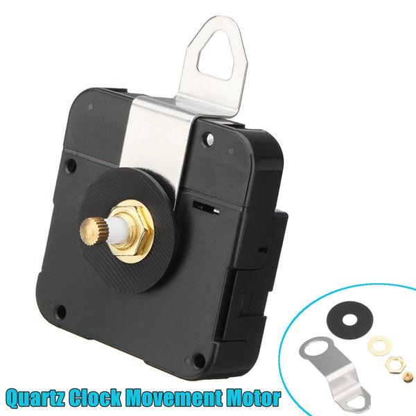 New Replacement Quartz Clock Movement Mechanism Motor /& Fittings DIY Repair