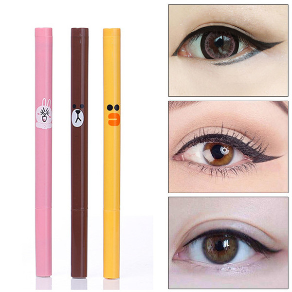 Black Liquid Cute Eyeliner Long-lasting Waterproof Liquid Black Eyeliner Pencil Skid Resistant Dot Eye liner Pen For Cosmetic Makeup Yanqina