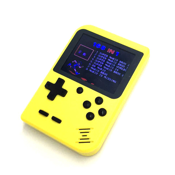 best selling The new mini game console can store 168 games nes and hand held game console retail boxs