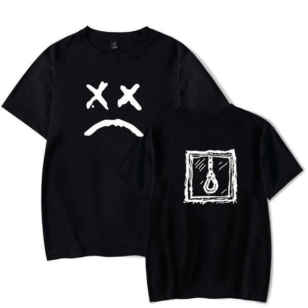 Lil Peep Trauriges Gesicht T-shirt Hip Hop Rapper T Herren Jungen Konzert Sommer T-shirt Cool Lässig Stolz T-shirt Männer Unisex Neue Mode