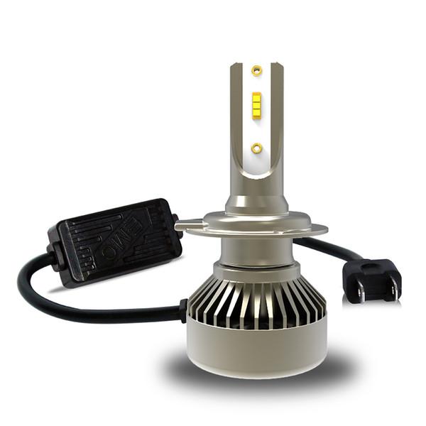 1 Pair Q6 Car Headlights 55W 5000LM Led Bulbs H1 H3 H4 H7 H8 H9 H11 9005 9006 6000K Cool White 12V-24V