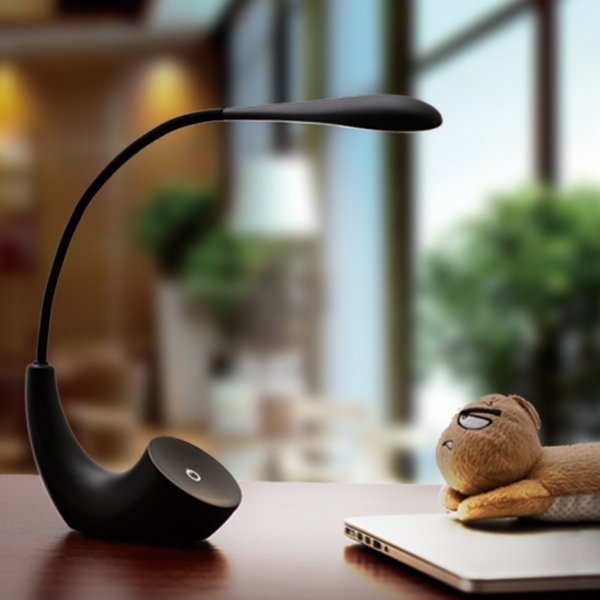 Nordic Minimalist Led Folding Table Lamp Touch Three Block Charging Night Light Touch Table Lamp