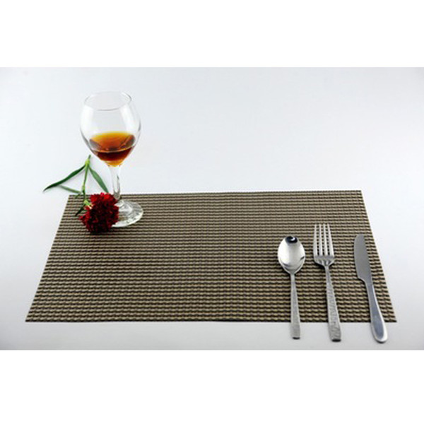 1PC Placemat Fashion Pvc Dining Table Mat Disc Pads Bowl Pad Coasters Waterproof Table Cloth Pad Slip-Resistant