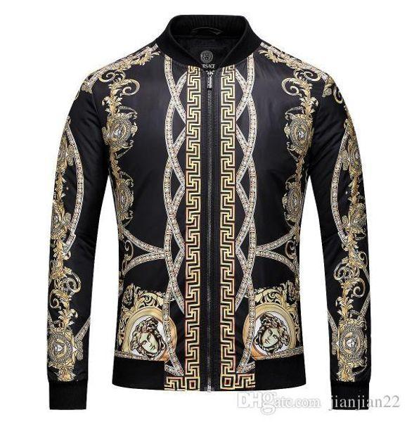 Tendance de l'automne et l'hiver nouvelle 2018 veste veste haut de gamme stand collier Europe et les États-Unis mode casual haut de gamme jack