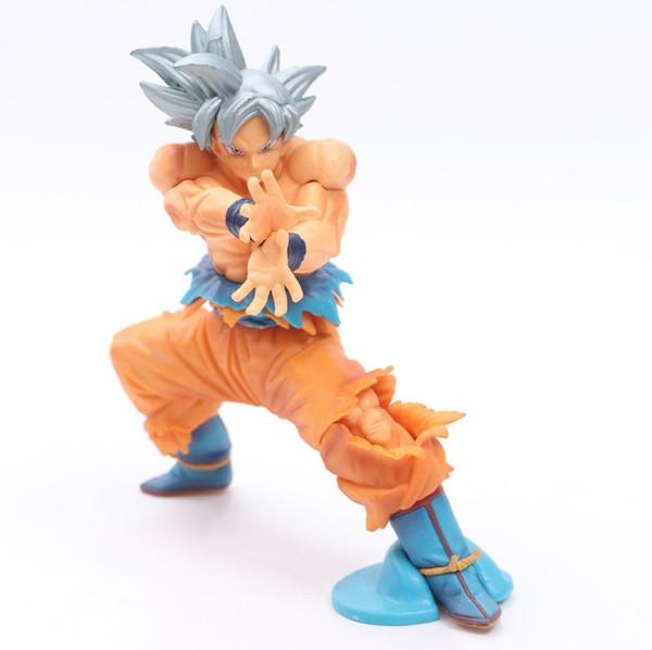 DragonBall Z Super Saiyan Ultra Instinct Goku Migatte no Gokui ключ эгоизма коллекция фигурки игрушки Dragon Ball 16 см