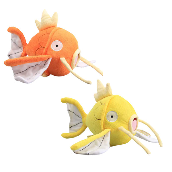 top popular High Quality 2 Colors Magikarp Plush Stuffed Animals Toy For Children Best Gift 8inch 20cm 2021