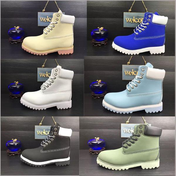 Waterproof Original Quality Martin Ankle Boots Brand New Mens Work Hiking Shoes Leather Outdoor Winter Snow Boots multi colors Size 5.5-13