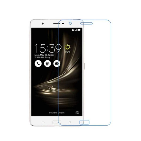 For ASUS ZenFone 3 Ultra ZU680KL Tempered Glass Screen Protectors Anti-Bubble Anti-Scratch Anti-Fingerprint Film For iPhone X XS XR XS