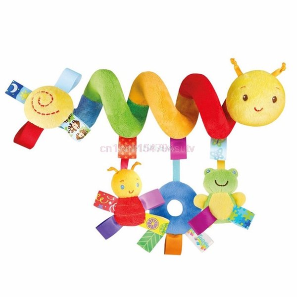 Wholesale-Baby Activity Spiral Stroller Car Seat Travel Lathe Hanging Toys Rattles Toy Hot #H055#