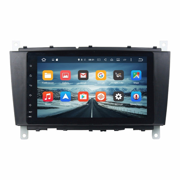 """2 din 8"""" Android 7.1 Android 6.0 Car Audio DVD Player Car DVD for Mercedes Benz C-Class W203 CLC G Class W467 With 4GB RAM Radio GPS USB"""
