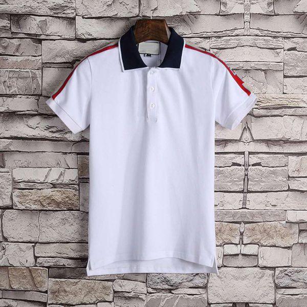 XX Nefes Polos erkek yeni stil, yüksek kaliteli İtalyan moda tasarım lüks moda T-shirt erkek T-shirt yaka suç ile kısa kollu