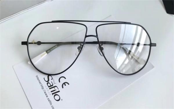 Luxo Popular 0399 Óculos Moda Feminina Mulheres Designer Quadrado Estilo Retro Moldura Completa de Alta Qualidade Preto De Prata De Ouro Livre Vem Com o Caso