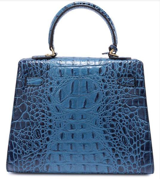 bolso de cocodrilo cuerpo cruzado hombro nuevo bolso bolso de mano avestruz bolso de mano al por mayor de las mujeres al por mayor Reino Unido Francia bolsa de cuero genuino París EE. UU. EUR