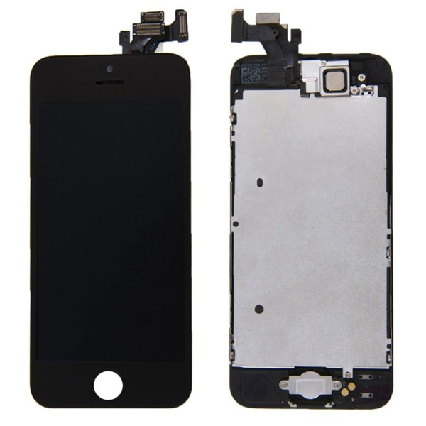 LCD Display For iPhone 5G Front Touch Screen Assembly Replacement with Free Gifts Temper Glass+Tools Kit AAA Top Quality